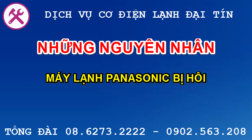 may lanh panasonic bi hoi